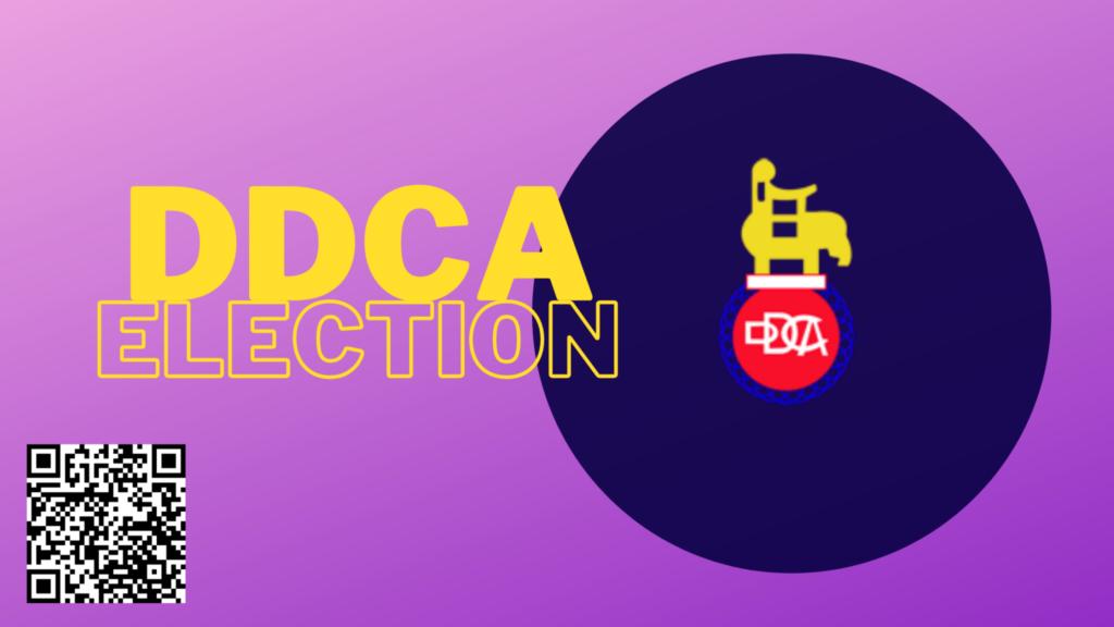 DDCA Election Canceled