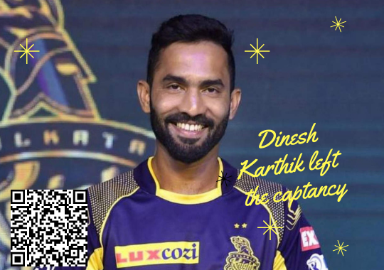 Dinesh Karthik left captancy