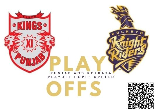 KKR and KXIP Playoffs