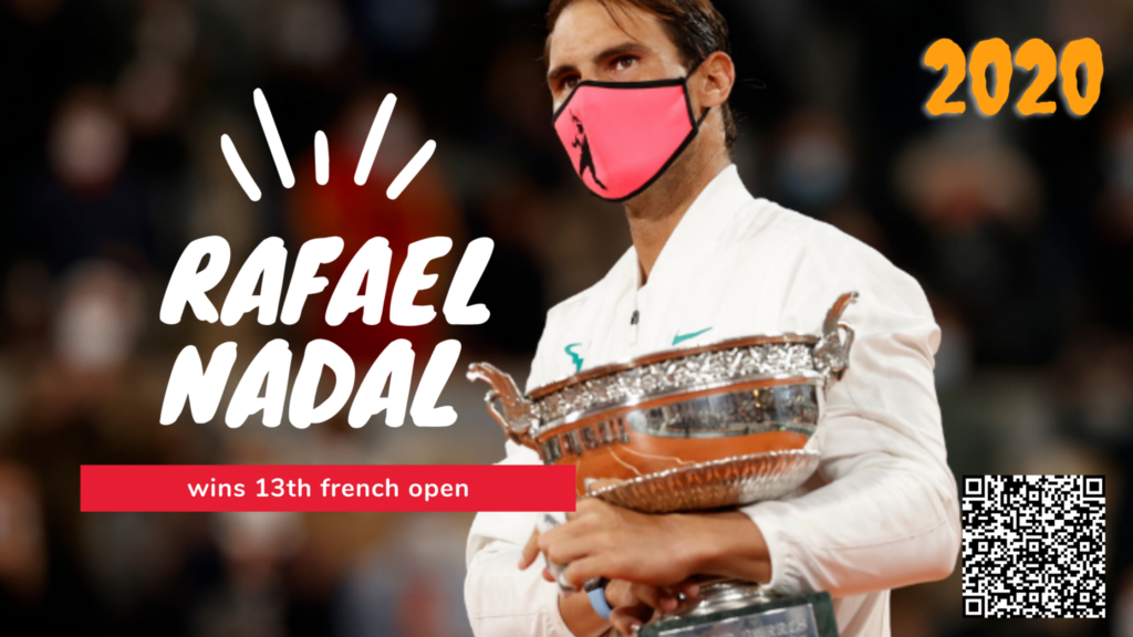 Rafael Nadal wins 13th french open