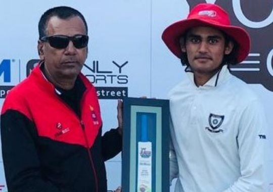Ran Star Club defeated Madan Lal Academy by 166 runs to win the inaugural match of the Turf Youth Cup Under-19 cricket tournament