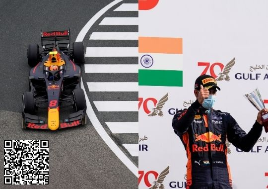 Maiden F2 Podium for Indian staar Jehan