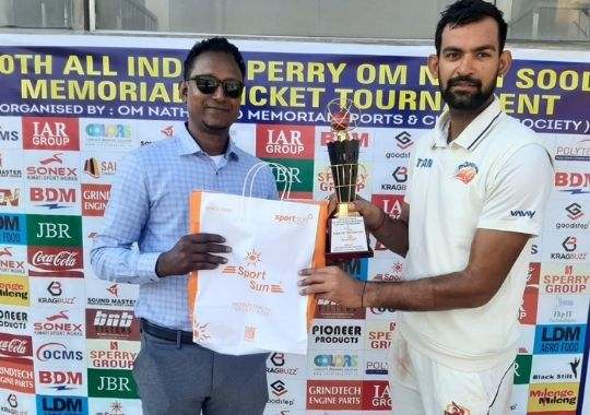 Pioneer Club's easy win in Om Nath Sood Cricket