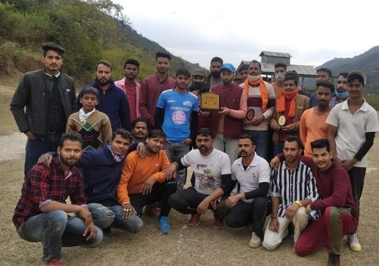 Salt Valley Sporting Club's first 10-10 Overs tournament becoming popular in Mandi