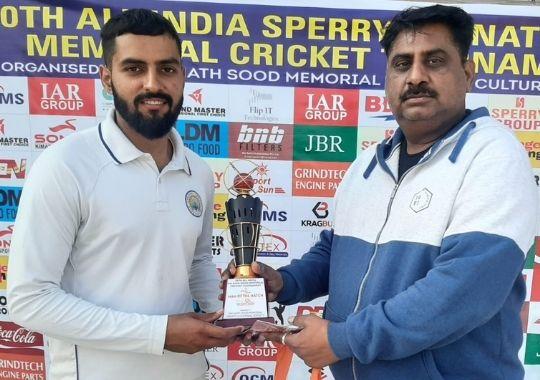 Uday Bhan Academy wins in Om Nath Sood cricket