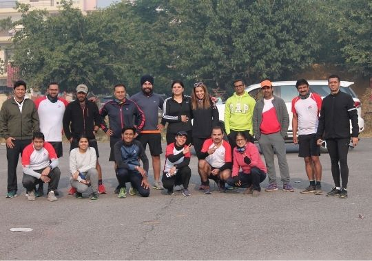 89 runners experience the magic of the Airtel Delhi Half Marathon from Chandigarh