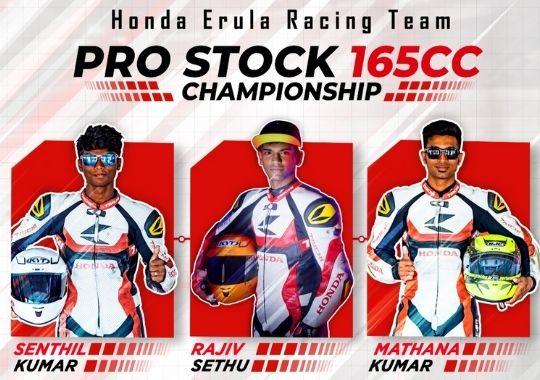 ENEOS Honda Erula Racing team all set for INMRC Grand Finale