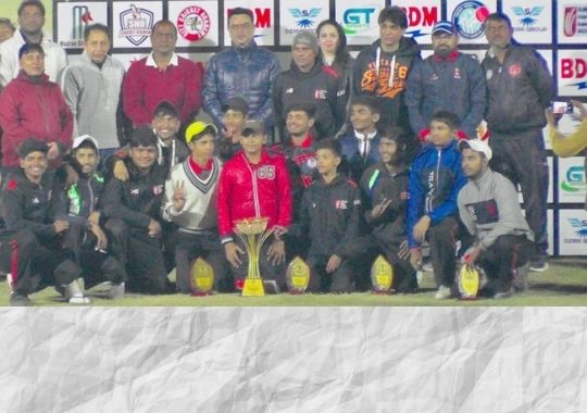 Hari Singh Academy wins Sharma Cricket title