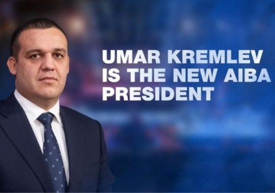 Russia's Umar Kremlev has been elected President of the International Boxing Association (AIBA)