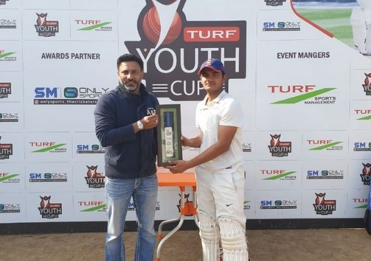 LB Shastri in the final of the Turf Youth Cup