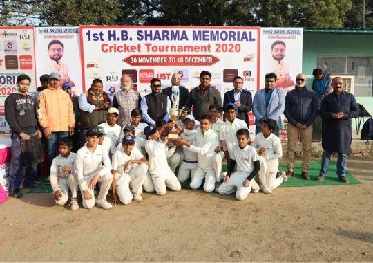 TN Memorial becomes champion in HB Sharma cricket tournament