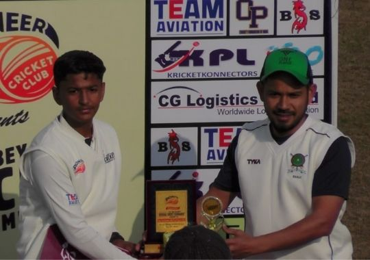 The Golden Hawks defeated ISSCA by 84 runs
