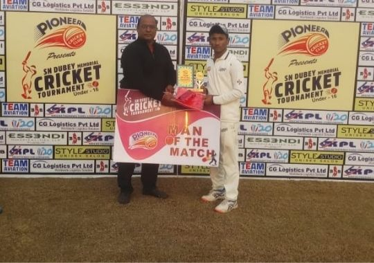 Uttaranchal boys win with half centuries of Tarun and Ankit