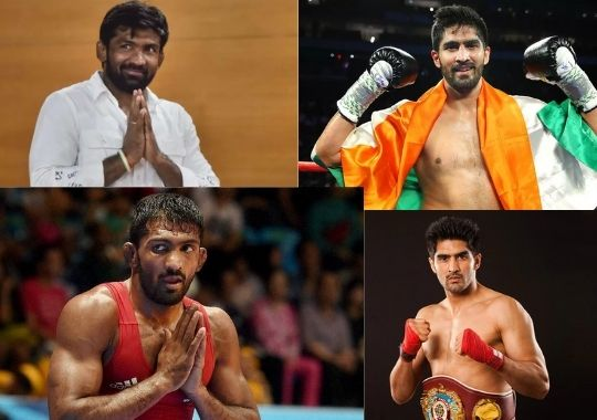 Why are players plunging into the mud of politics Yogeshwar Dutt and Vijender Singh