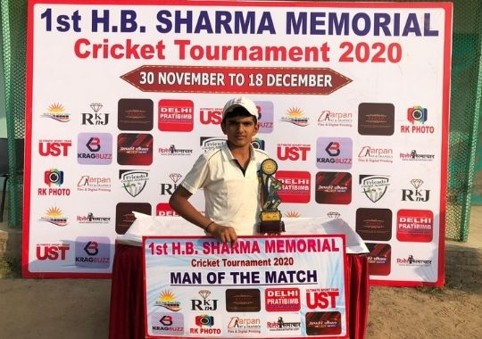 Mohammad and Aaron's brilliant performance in HB Sharma cricket
