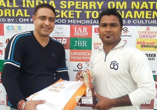 Om Nath Sood wins the Sehgal club in cricket