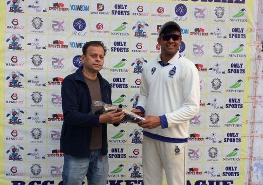 Sanath and Akshay match winning inning in Sharma cricket