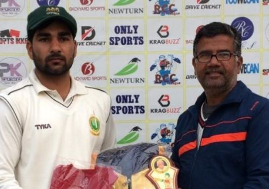 BR Sharma missed Dipanshu century in cricket