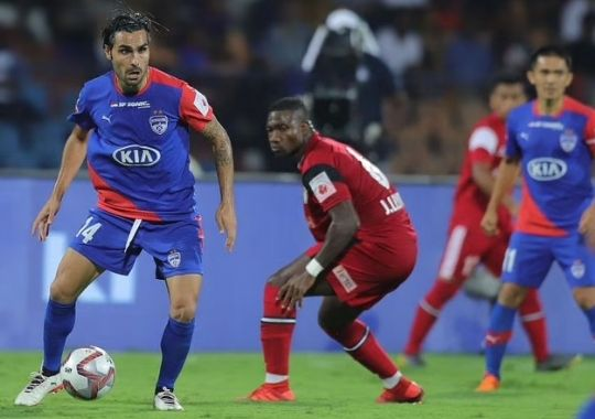 Bengaluru FC stopped Northeast on the draw
