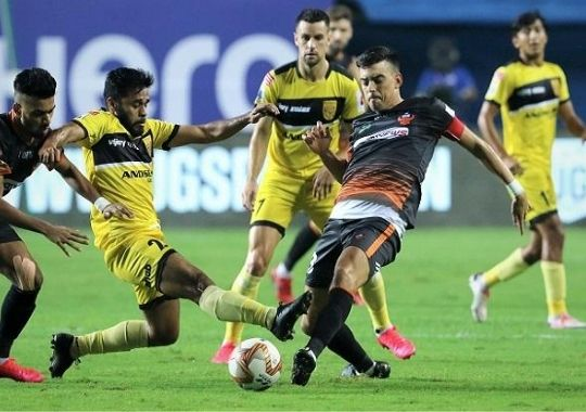 Mendoza's two goals lead to a convincing win over Jamshedpur in the ISL of Goa