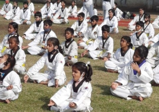 National Sikh Games takewondo