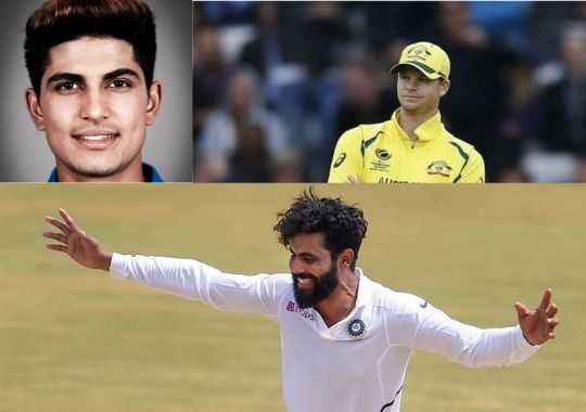 The second day named after Steve Smith, Subhuman Gill and Ravindra Jadeja